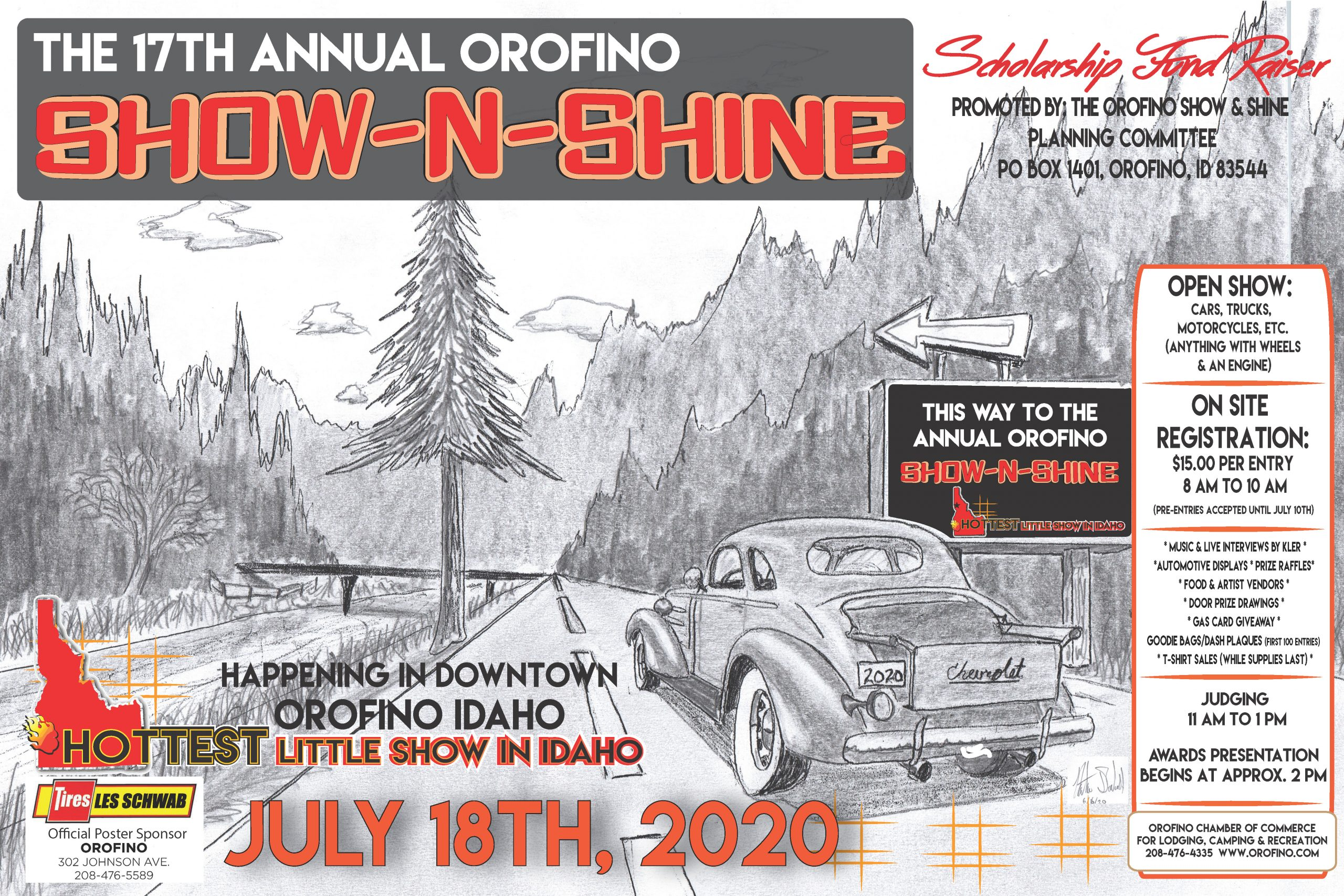 Show and Shine poster 2020