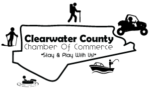 Clearwater County Chamber Of Commerce – Orofino, Weippe, Pierce & Elk River Idaho Logo