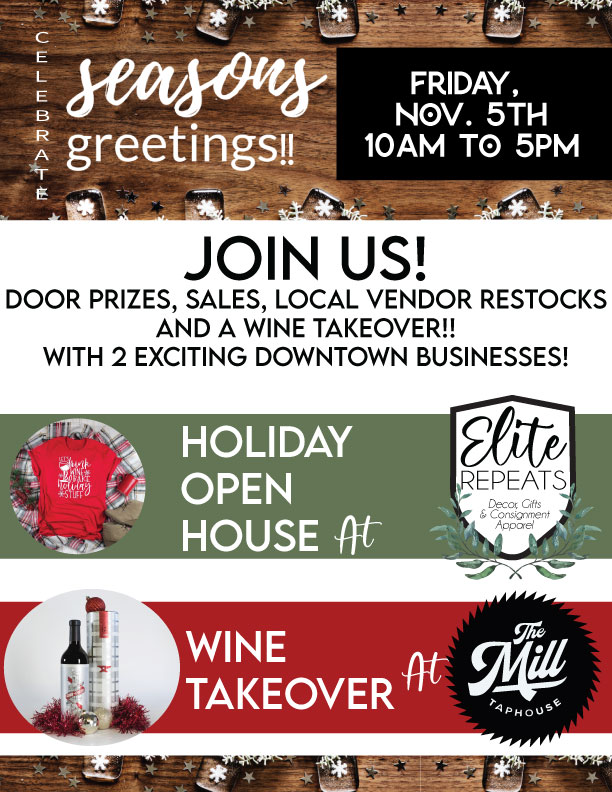 Elite-Repeats-Holiday-Open-House-+-mill-tap-takeover